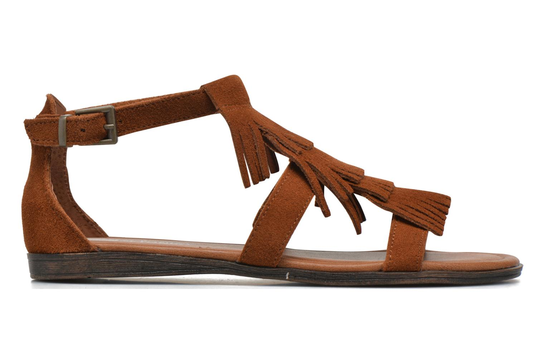 Sandales et nu-pieds Minnetonka Maui Marron vue derrière