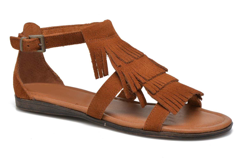 Sandales et nu-pieds Minnetonka Maui Marron vue détail/paire