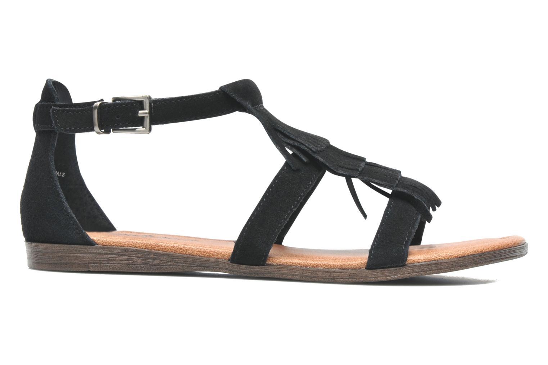 Sandalen Minnetonka Maui schwarz ansicht von hinten