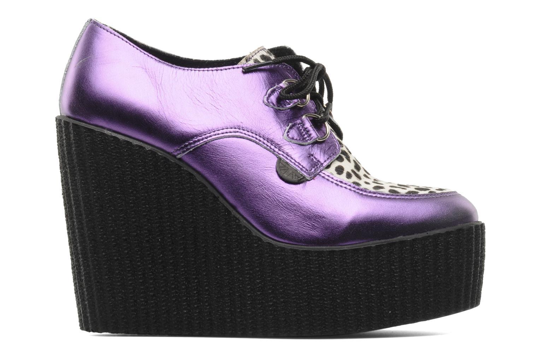 Zapatos con cordones Underground Flashies Violeta      vistra trasera