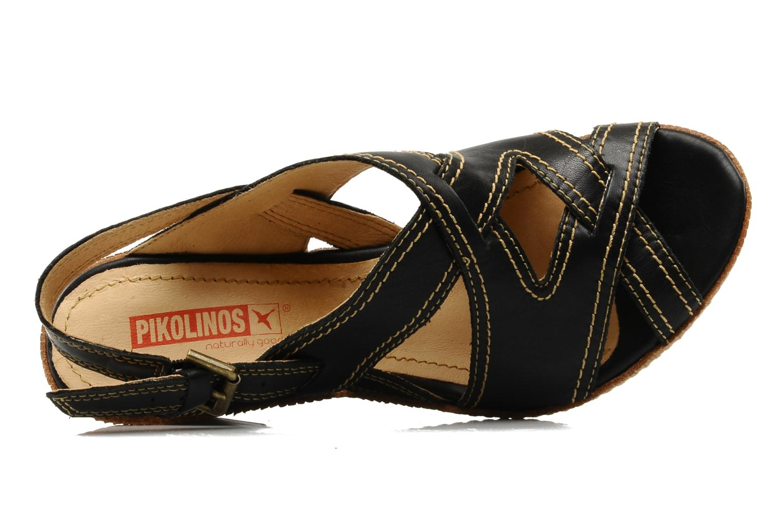 Sandales et nu-pieds Pikolinos Gomera 8247 Noir vue gauche