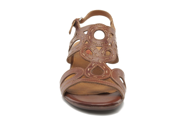 Sandales et nu-pieds Pikolinos Thailandia 7589 Marron vue portées chaussures