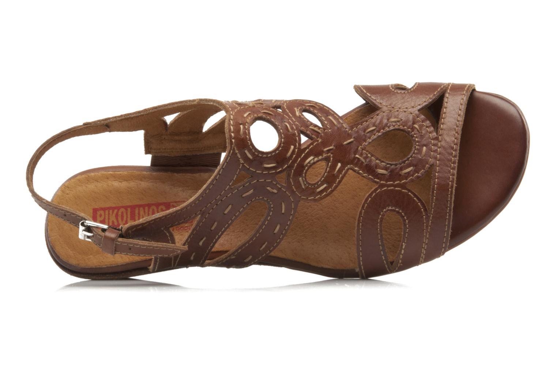 Sandales et nu-pieds Pikolinos Thailandia 7589 Marron vue gauche