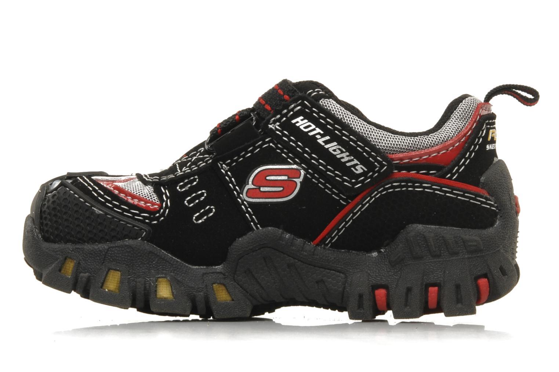 Sneaker Skechers Turbo-s schwarz ansicht von vorne