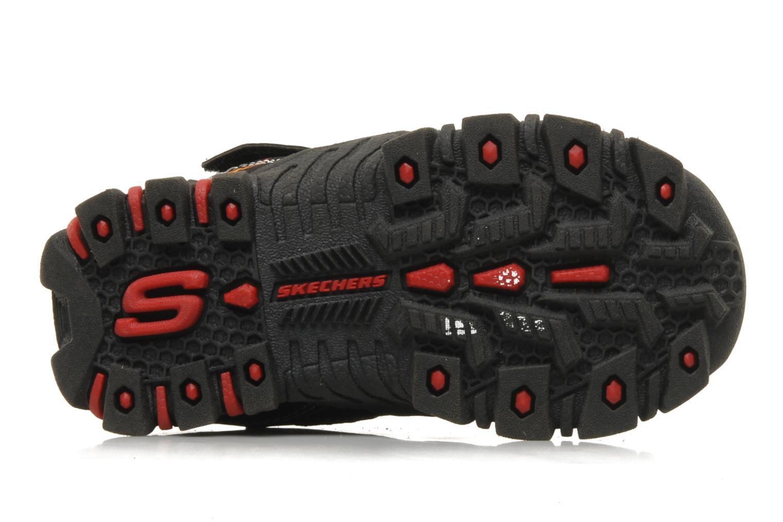 Sneaker Skechers Turbo-s schwarz ansicht von oben