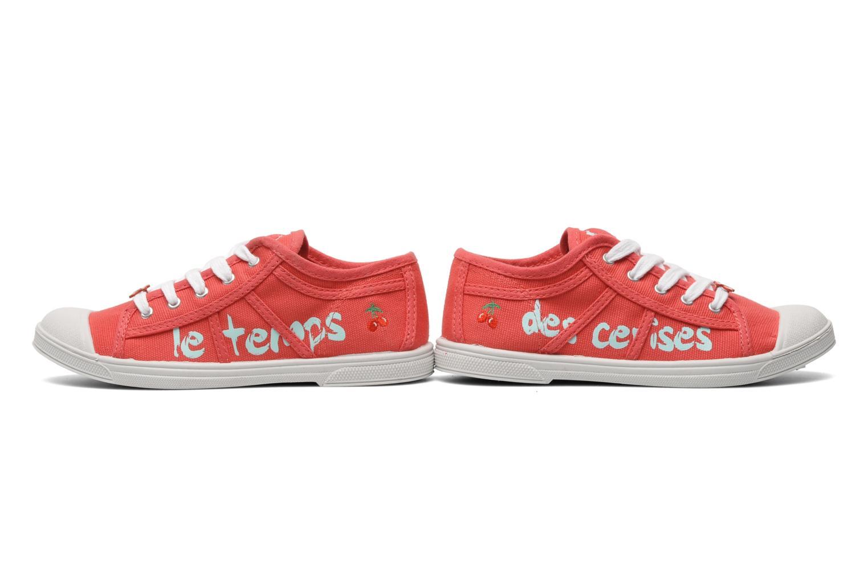 Sneakers Le temps des cerises Basic 02 E Roze 3/4'
