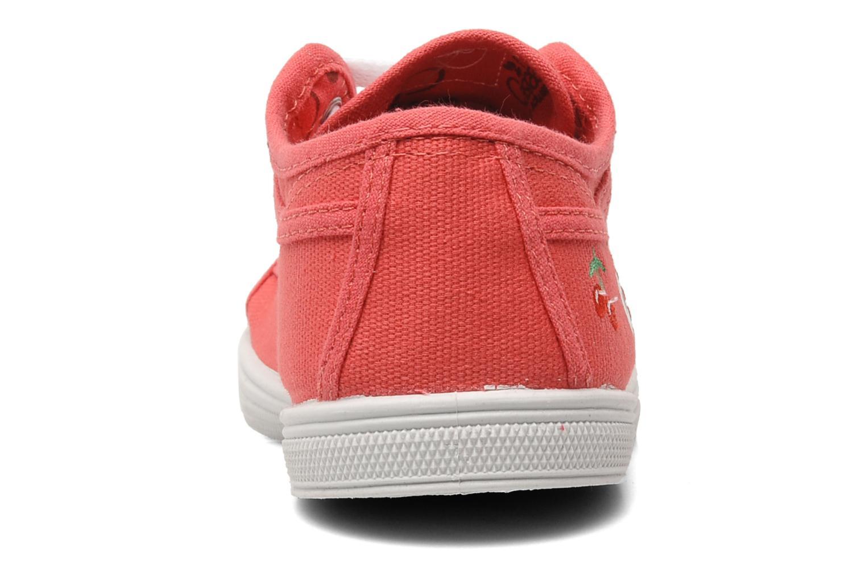 Sneakers Le temps des cerises Basic 02 E Roze rechts