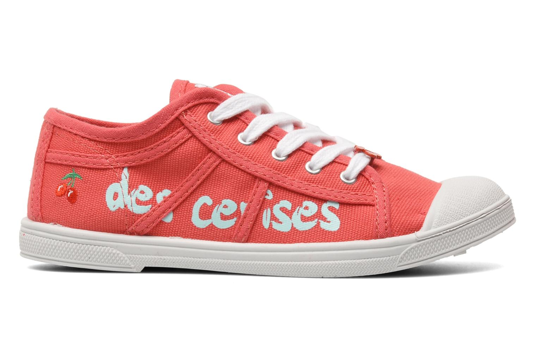 Sneakers Le temps des cerises Basic 02 E Roze achterkant