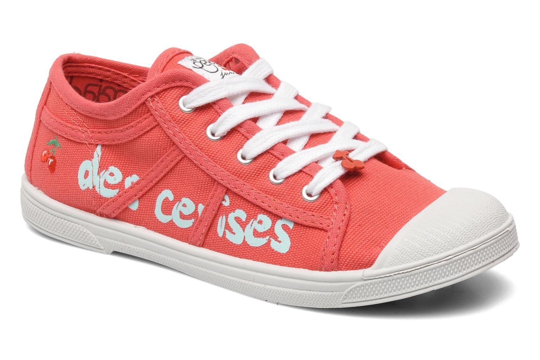 Sneakers Le temps des cerises Basic 02 E Roze detail