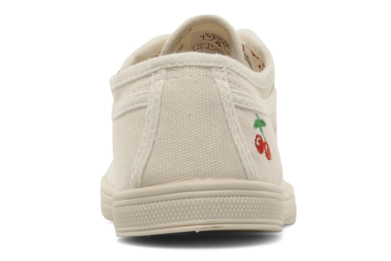 Sneakers Le temps des cerises Basic 02 E Wit rechts