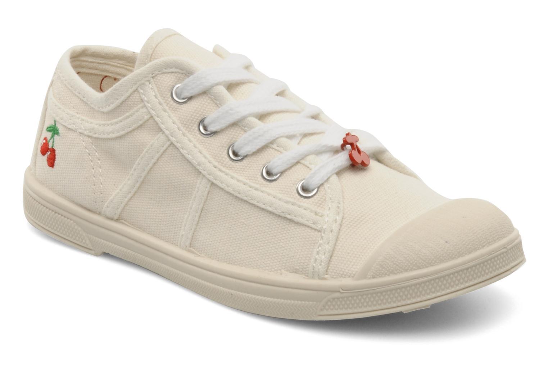 Sneakers Le temps des cerises Basic 02 E Wit detail