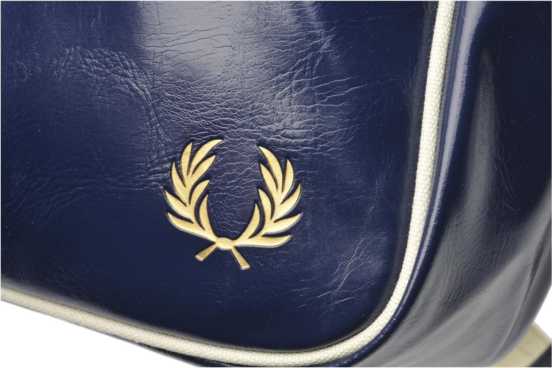 Classic shoulder bag Navy-Ecru