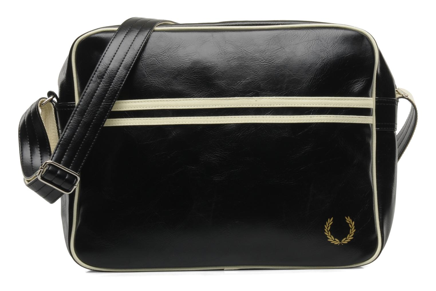 Classic shoulder bag Black-Ecru 102