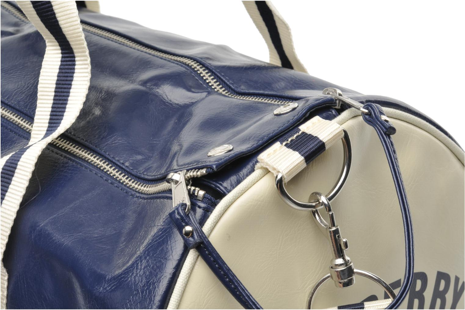 Classic barrel bag Navy-Ecru