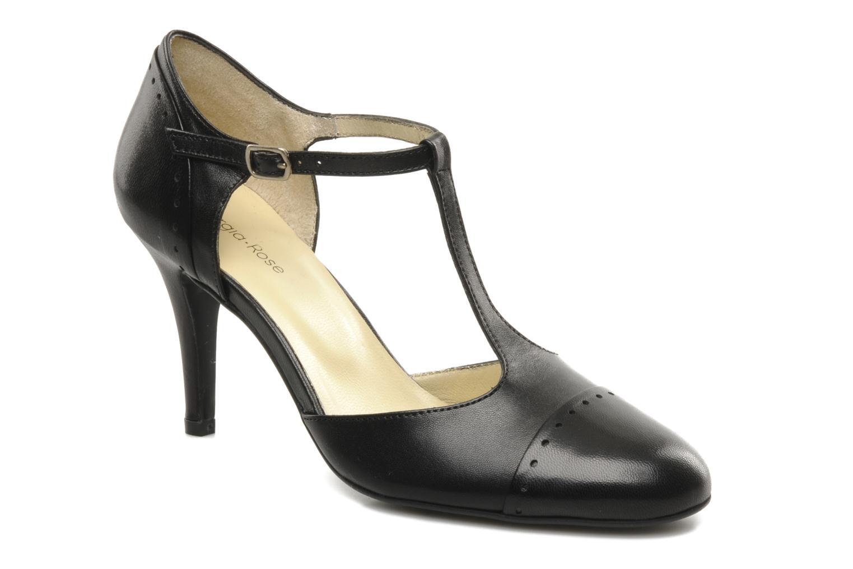 Høje hæle Georgia Rose Tamar Sort detaljeret billede af skoene