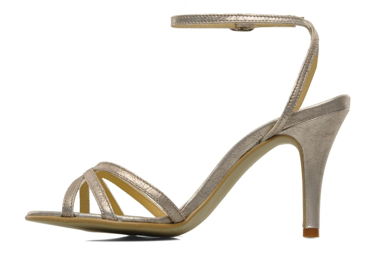 Sandalen Georgia Rose Tomina silber ansicht von vorne