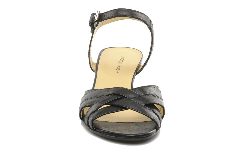 Sandalen Georgia Rose Turaco schwarz schuhe getragen