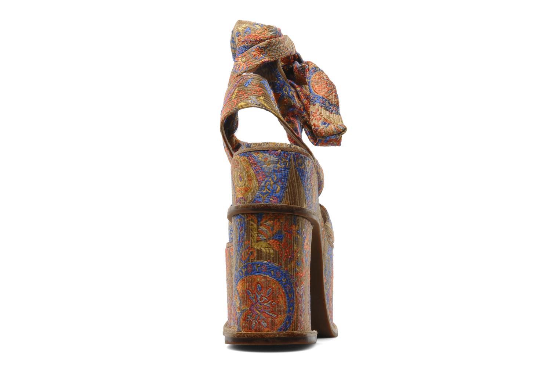 Sandales et nu-pieds Jeffrey Campbell LANDERS Or et bronze vue droite
