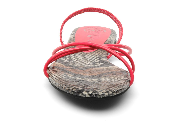 Sandales et nu-pieds Jeffrey Campbell SPIRAL Rose vue portées chaussures