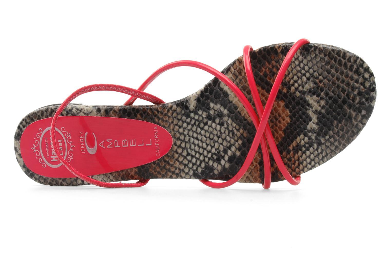 Sandales et nu-pieds Jeffrey Campbell SPIRAL Rose vue gauche