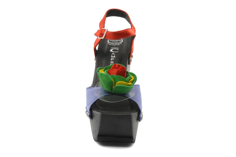 Sandales et nu-pieds Jeffrey Campbell CHITA Multicolore vue portées chaussures