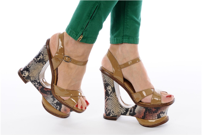 Sandali e scarpe aperte Jeffrey Campbell HARE 2 Beige immagine dal basso