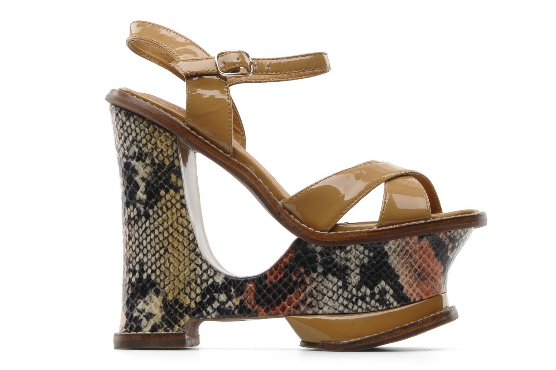Sandali e scarpe aperte Jeffrey Campbell HARE 2 Beige immagine posteriore