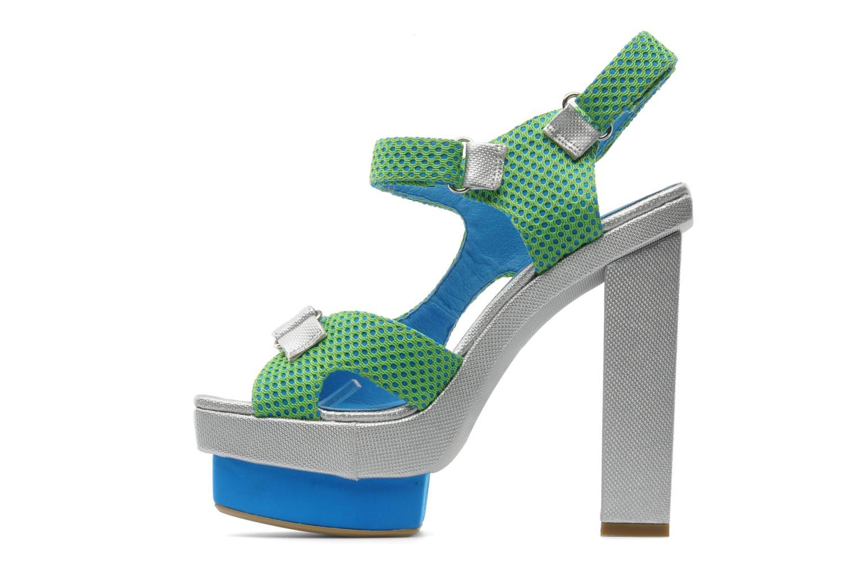 Sandalen Jeffrey Campbell FONDA grün ansicht von vorne