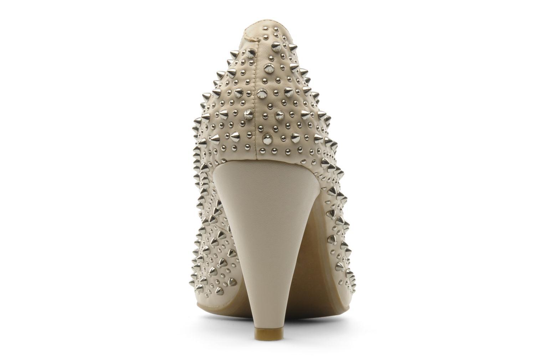 Zapatos de tacón Jeffrey Campbell LANE SPIKE Beige vista lateral derecha
