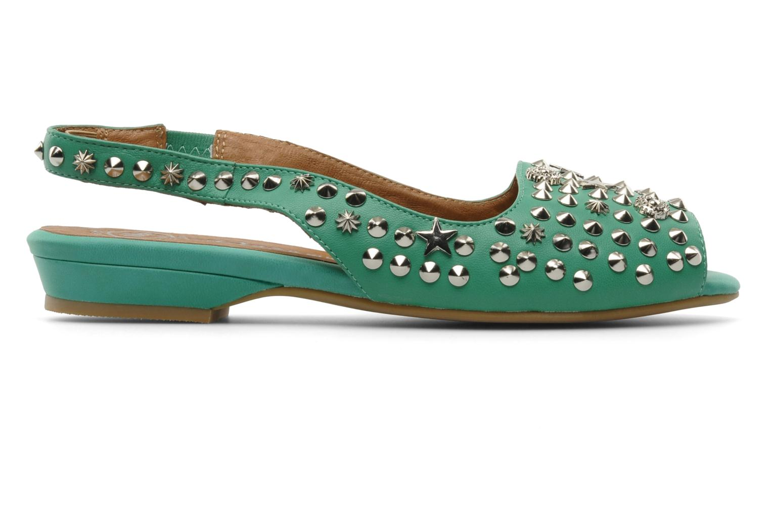 Sandalias Jeffrey Campbell SIDE NOTE Verde vistra trasera