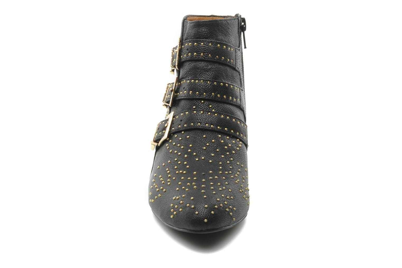 Ankle boots Jeffrey Campbell STARBURST Black model view