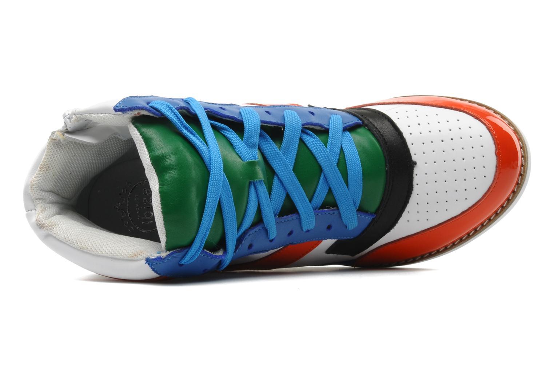 Baskets Jeffrey Campbell NAPOLES Multicolore vue gauche