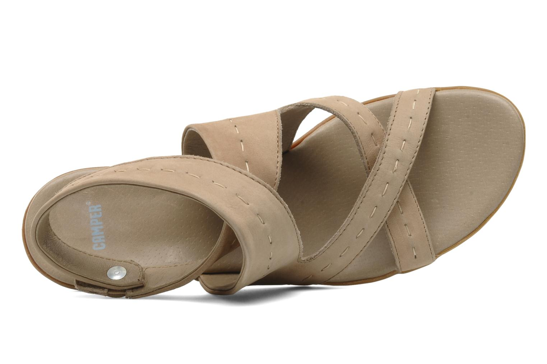 Sandales et nu-pieds Camper Lulu 21415 Beige vue gauche