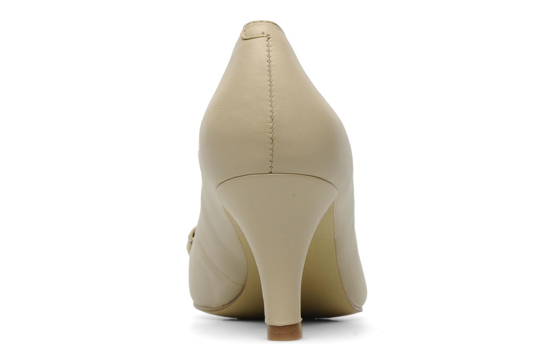 Zapatos de tacón Naturalizer Stev Beige vista lateral derecha