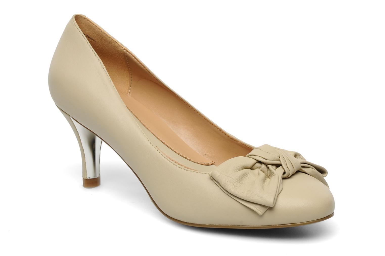 Høje hæle Naturalizer Stev Beige detaljeret billede af skoene