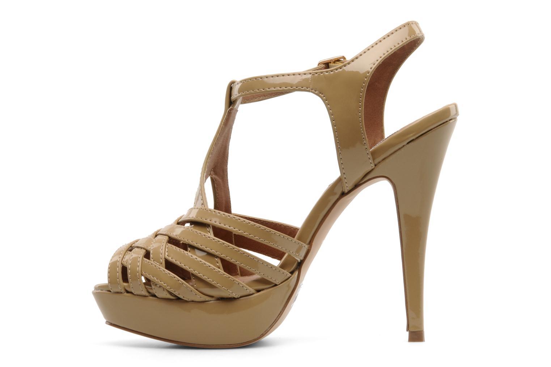 Sandales et nu-pieds Steve Madden HALLELU Beige vue face