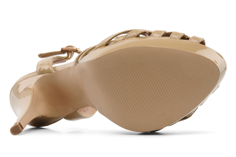 Sandales et nu-pieds Steve Madden HALLELU Beige vue haut