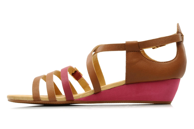 Sandales et nu-pieds Flipflop LIZ Marron vue face