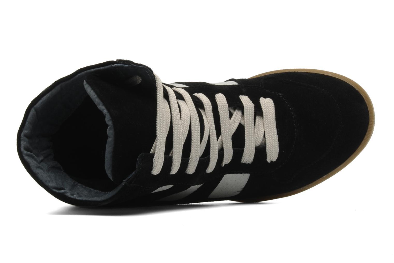 Sneaker Jonak Douveti schwarz ansicht von links