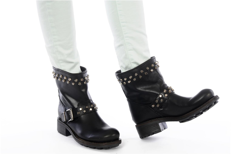 Stiefeletten & Boots Jonak Jorock schwarz ansicht von unten / tasche getragen