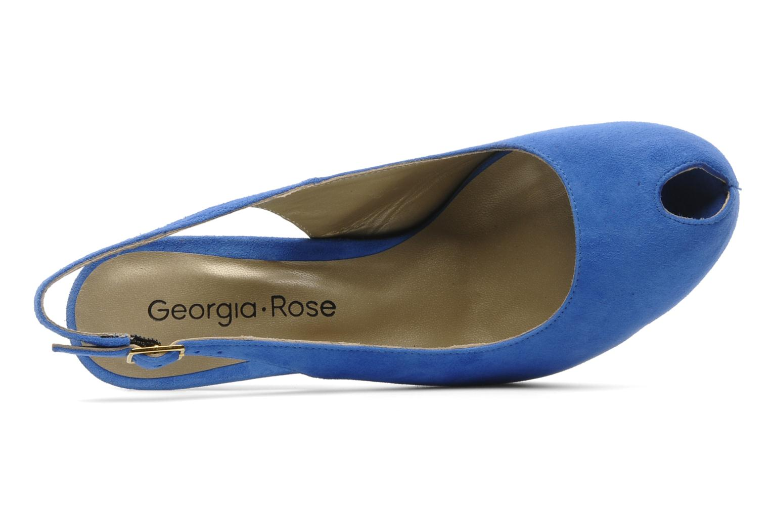 Sandalen Georgia Rose Tyler Blauw links