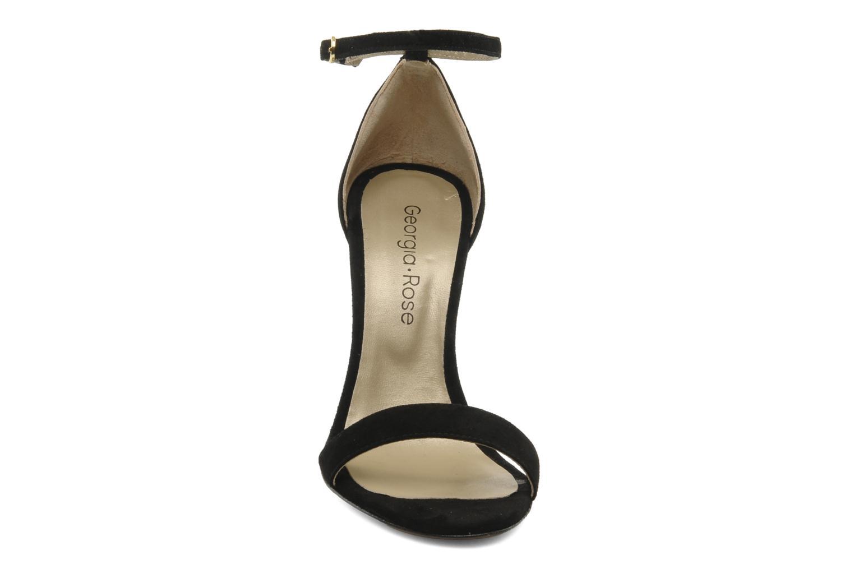 Sandalen Georgia Rose Fissa schwarz schuhe getragen