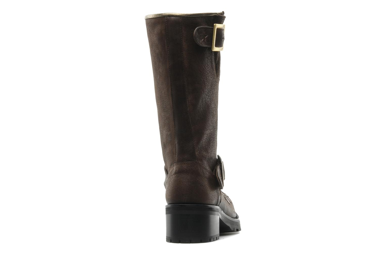 Bottines et boots Georgia Rose Perjane Marron vue droite