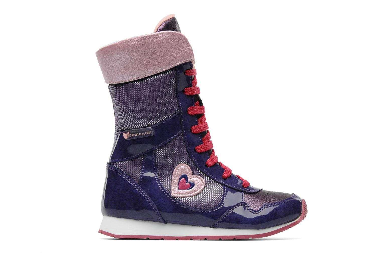 Ankle boots Agatha Ruiz de la Prada Divina Purple back view