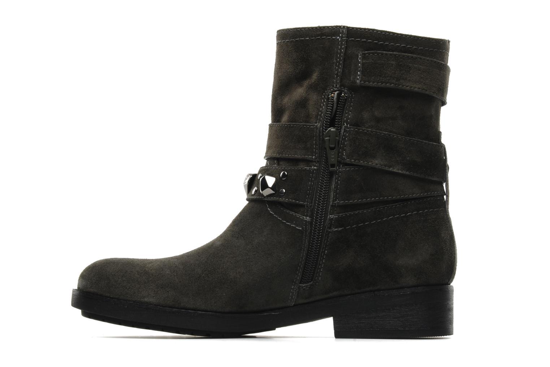 Bottines et boots Luciano Barachini Cary Gris vue face