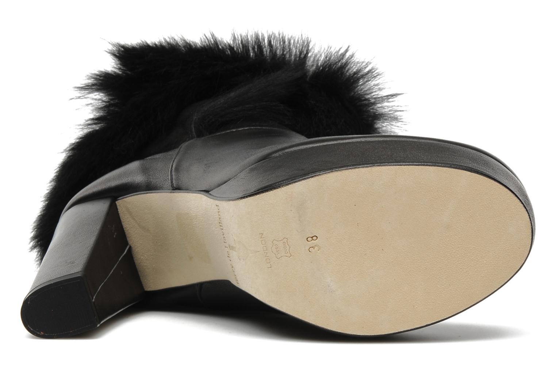 Bottines et boots Terry de Havilland KATYA Noir vue haut