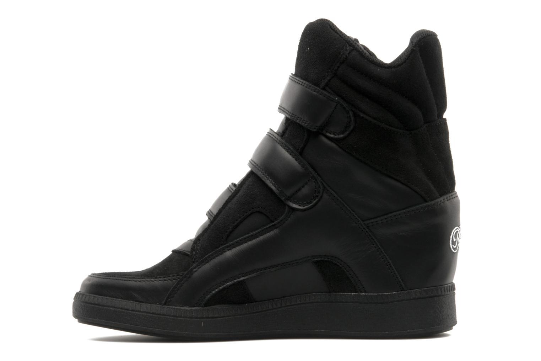 Sneaker Buffalo Saana schwarz ansicht von vorne