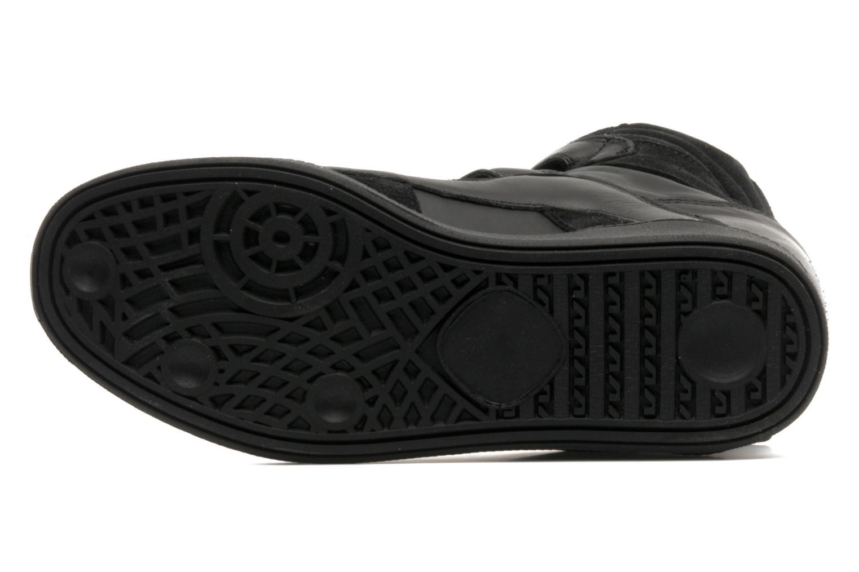 Sneaker Buffalo Saana schwarz ansicht von oben