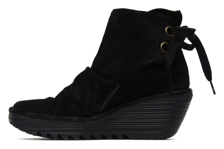 Stiefeletten & Boots Fly London Yama schwarz ansicht von vorne