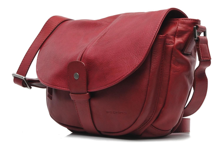 Handtassen Sabrina Louison Rood model